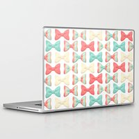 bows Laptop & iPad Skins featuring bows by melazerg