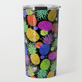 Groovy Pinapples Travel Mug