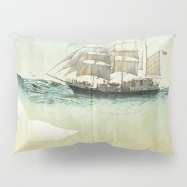 white tail, Moby Dick Pillow Sham