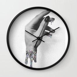 Came Thru Drippin' Wall Clock