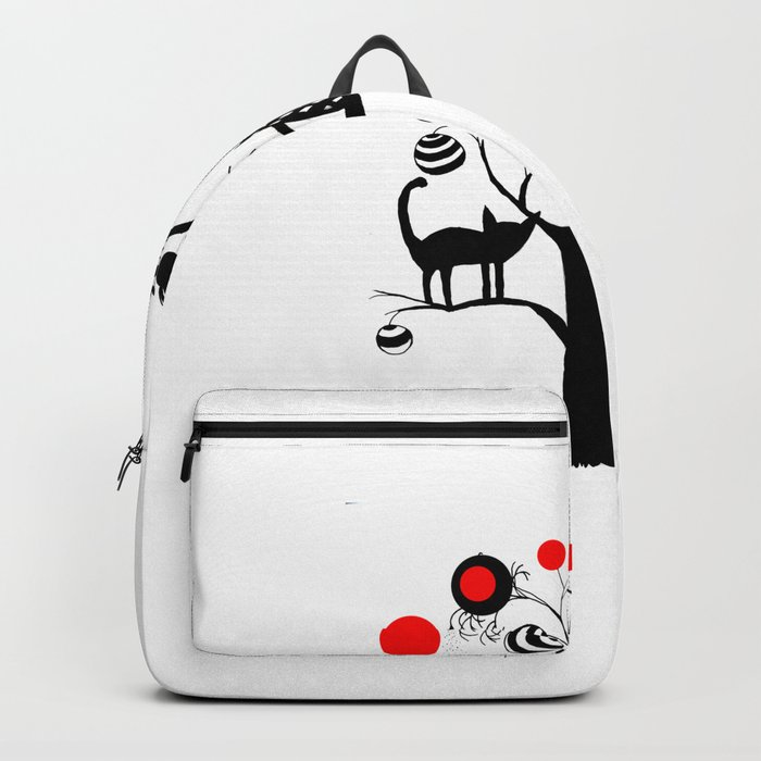 cats and fruits Backpack