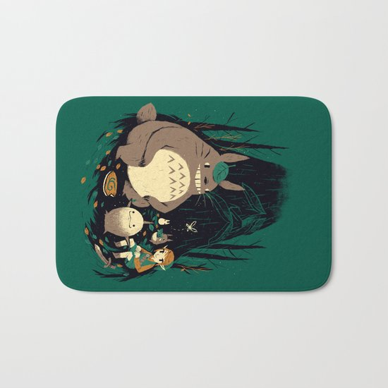 spirits of the forest Bath Mat