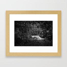 Overgrown Framed Art Print