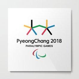 PyeongChang 2018 Logo 2 Metal Print