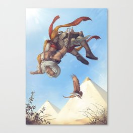 Can't Tame the Desert Canvas Print
