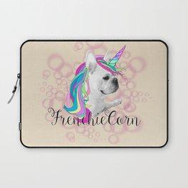 Frenchie Unicorn Laptop Sleeve