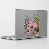 my little pony Laptop & iPad Skins featuring My Little Pony (Color) by Seth Spriggs