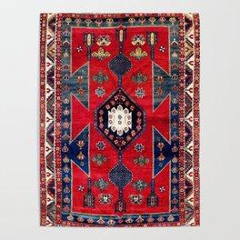 Kazak Southwest Caucasus Rug Poster