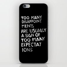 Disappointments /2/ iPhone & iPod Skin
