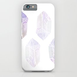 Pointy Crystal Healing Abstract Multicolor iPhone Case