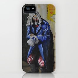 """Spitting Out Pieces of His Broken Luck"" iPhone Case"