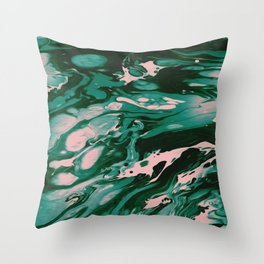 MEET ME IN THE WOODS Throw Pillow