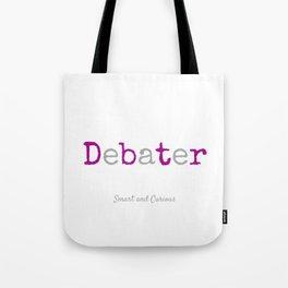 Master Debater Tote Bag