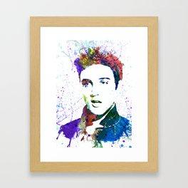 Elvis Framed Art Print