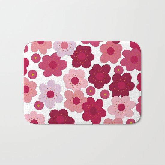 cherry blossom pop Bath Mat