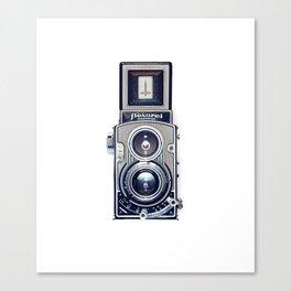 Vintage Camera Twin Lens Flexaret Canvas Print