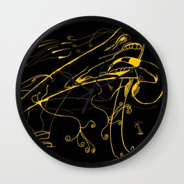 Grito Wall Clock