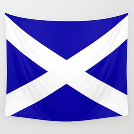 Scottish Flag Wall Tapestry