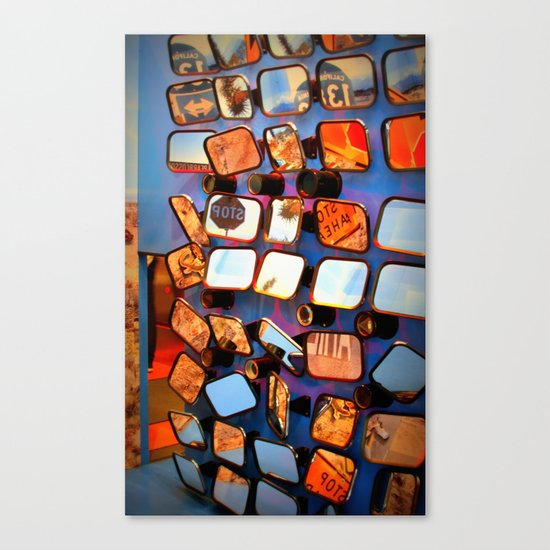 colorful fragments of life Canvas Print