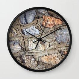 Cobblestones Cladding Wall Wall Clock