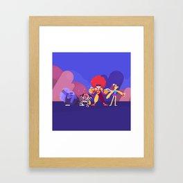 McUniverse Framed Art Print