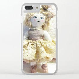 Doll in Lace~ Clear iPhone Case