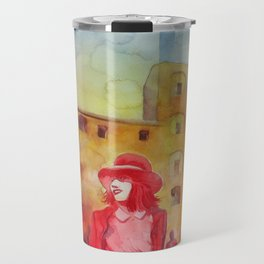 Chapeau rouge Travel Mug