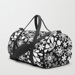 Retro. Floral motifs 4 Duffle Bag