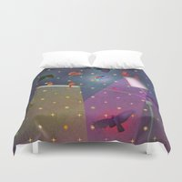 grace Duvet Covers featuring grace by Lawson Grice