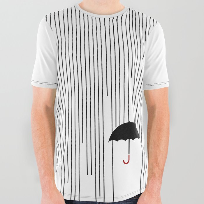 Umbrella_Rain_All_Over_Graphic_Tee_by_DontLetThemSeeYoureAfraid__Large