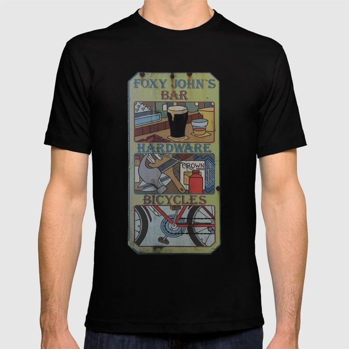 d001f4e3c Foxy John's T-shirt by coreybyrnes | Society6