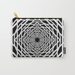 Diamonds in the Rounds Midnight Version Carry-All Pouch