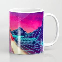 Synthwave Space #18: Twilight horizon Coffee Mug