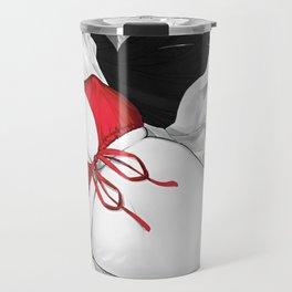 Red Lingerie Travel Mug