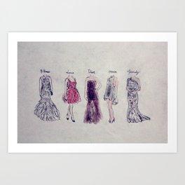 Haute Couture  Art Print