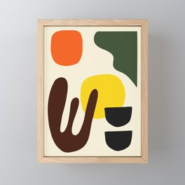 Modern Abstract Art 03 Framed Mini Art Print