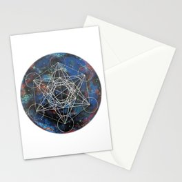 Metatron's Cube Stationery Cards