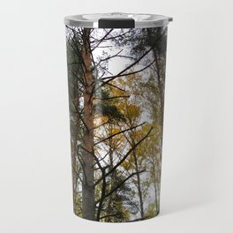 Forest Widerness In Autumn Travel Mug