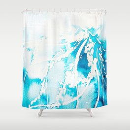 Jelly Study #3 Shower Curtain