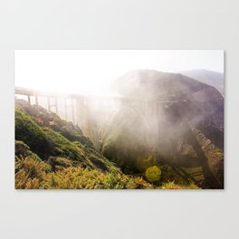 Foggy Day in the Bay Canvas Print