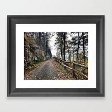 Path 1 Framed Art Print