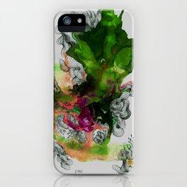 Green Ruin iPhone Case