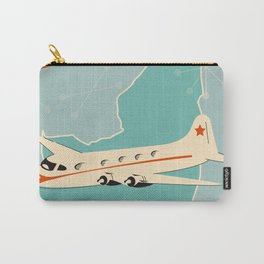 New York State vintage travel poster Carry-All Pouch