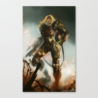 samus Canvas Prints featuring Samus  by Jorge Lacera