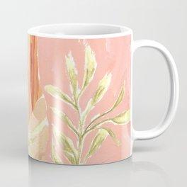 Girl and the leafs Coffee Mug