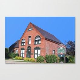 Ticonderoga Heritage Museum Canvas Print