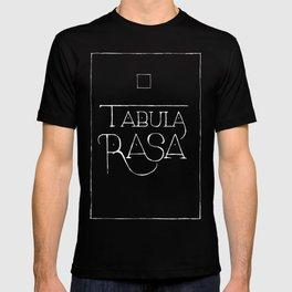 Tabula Rasa (black) T-shirt