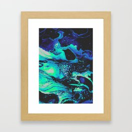 ABATTOIR BLUES Framed Art Print