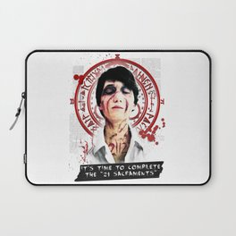 "Silent Hill - It's time to complete the ""21 Sacraments"" Laptop Sleeve"