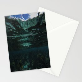 Dark Caribbean Layers Stationery Cards